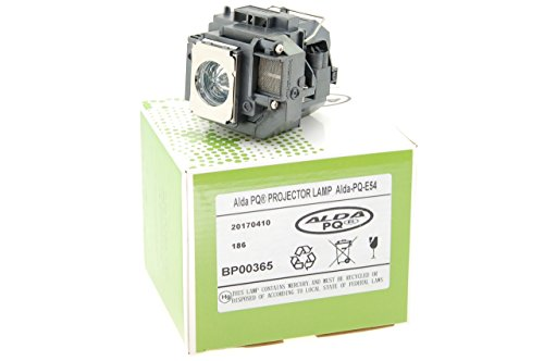 Alda PQ® Premium, Beamerlampe / Ersatzlampe passend für EPSON H325C, H309A, H309C, H310C, H311B, H311C, H312A, H312B, H312C, H327A, H327C, H328A, H328B, H328C, H331A, H331C, EX31, EX51, EX71, EB-S7, EB-S72, EB-S8, EB-S82, EB-W7, EB-W8, EB-X7, EB-X72, EB-X8, EB-X8e, Home Cinema 705HD, EH-TW450, EMP-S7, EMP-S8, EMP-X7, EX-31B, PowerLite Serie: 79, HC 705HD, S7, S8+, W7, 51, 71, S7+, S8, W7+, W8+, WEX31 Projektoren, Lampe mit Gehäuse / Halterung