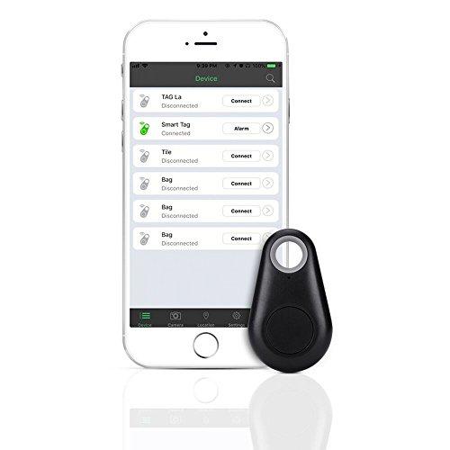 URAQT Alarm Bluetooth Schlüsselfinder/Ortungsgerät, Key Finder/Mini Bluetooth Tracker/Locator,Verlustschutz Diebstahlsschutz für Haustier und Kinder