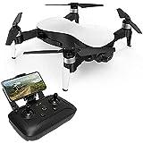 Drone GPS plegable con cámara 4K para adultos y principiantes, cuadricóptero RC FPV WiFi 5G, retorno a casa con GPS, ajuste de altitud, posicionamiento de flujo óptico, motores sin escobillas con estu