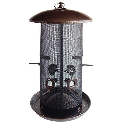 Stokes Select Giant Combo Screen Bird Feeder, Dual Seed Compartments, 10 lb Bird Seed Capacity