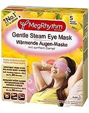 MegRhythm Verwarmend oogmasker - verpakking van 5 stuks - met zachte stoom, 100 g