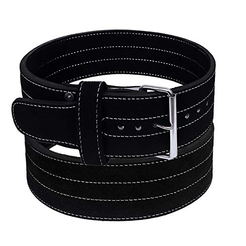 "Hawk single prong 4"" wide powerlifting belt image"