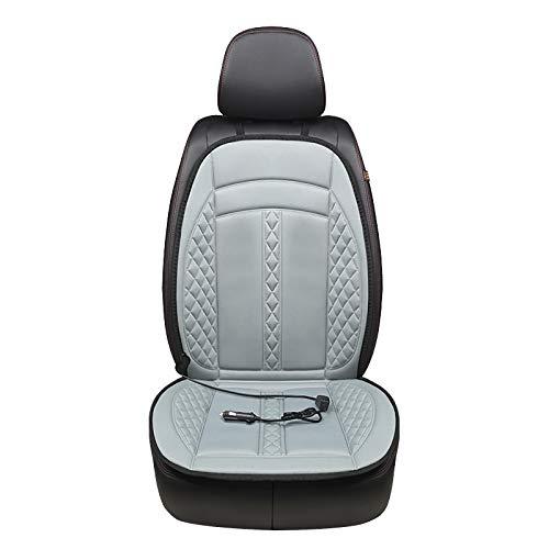 Sitzheizung Auto Auflage mit Massage,Kurzer Plüsch Home Office Sitzheizung Auto Auflage,Sitzbezügesets Auto Auflage USB Set 12V