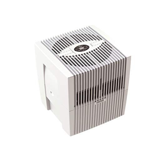Venta Luftwäscher LW25 Comfort Plus Luftbefeuchter und Luftreiniger für Räume bis 45 qm, brillant weiß, mit digitaler Steuerung
