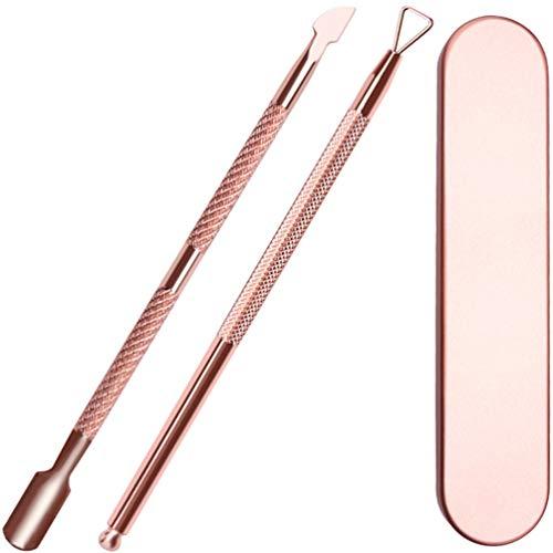 KINGMAS Cuticle Pusher & Remover Set