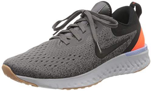 Nike Damen Odyssey React Laufschuhe, Grau (grau/orange grau/orange), 42.5 EU
