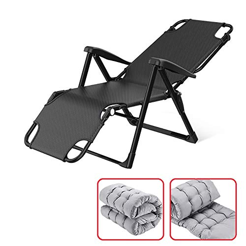 LWW Chairs,Sun Loungers with Cushion Folding Deck Chair, Perfect for The Garden, Balcony and Terrace,Lla1543ty