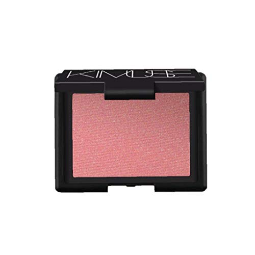 NaisiCore Soft Powder Blush Paleta de Larga duración Shade Mate Blush Blush Individual Minimalismo Maquillaje cosméticos faciales portátiles (Orgasm) Accesorios de Modelo