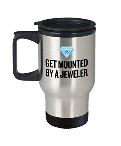 Zachrtroo Lustige Juwelier-Reise-Becher-Schmuck-Hersteller-Geschenk-Idee erhalten von einem Juwelier eingehangen