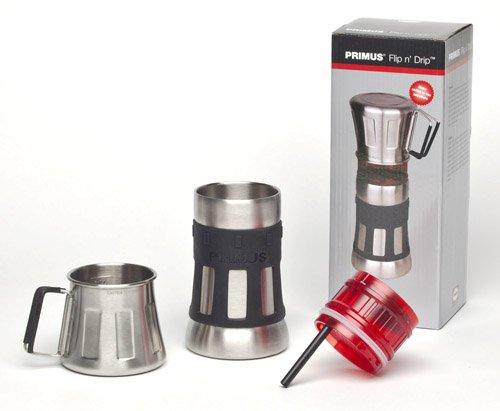 Primus Flip N' Drip Coffee Maker (Silver/Black)