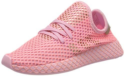 adidas Deerupt Runner W, Zapatillas para Correr Mujer, True Pink/Copper Met./Glory Pink, 39 1/3 EU ⭐