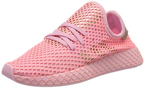 adidas Womens Deerupt Runner Sneaker, True Pink/Copper Metallic/Glory Pink, 37 1/3 EU