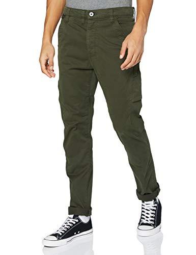 G-STAR RAW Mens Citishield 3D Slim Tapered Cargo Casual Pants, Asfalt gd C096-B575, 33W / L30