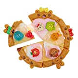 Num Noms Snackables Pizza Theme Kit with Scented Slime Surprises, Multicolor