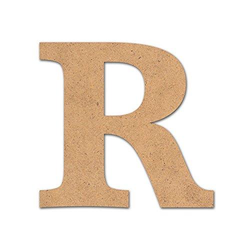 Detalles Infantiles - Letra madera manualidades 10cm R