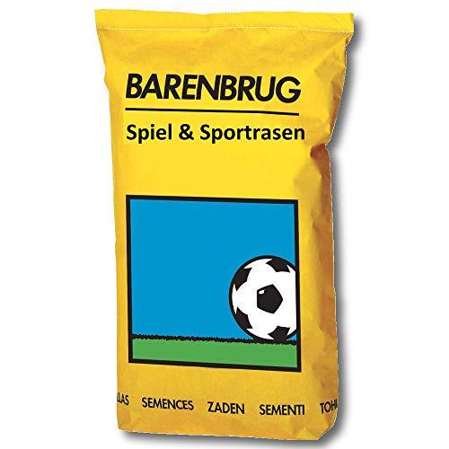 BARENBRUG Rasensamen Spiel und Sportrasen 25 kg,
