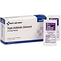 25-Count First Aid Only Triple Antibiotic Ointment Pack