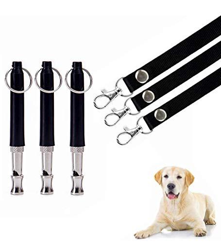Silbato Ultrasonidos para Perros,Silbato de Ultrasonidos,Silbato de Entrenamiento para Mascotas,Perros Silbato,Silbato de Perros,para Entrenamiento de Perros y Control de Descortezos