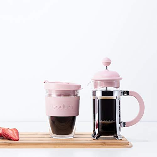 BODUM ボダム CAFFETTIERA カフェティエラ フレンチプレス コーヒーメーカー 350ml ストロベリー (限定カラー) 【正規品】 1913-340-Y19