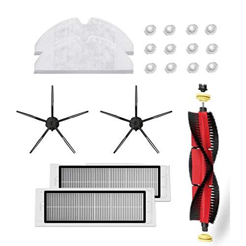 Heritan para S6 S5 MAX S60 Accesorios Partes de aspirador lavable HEPA filtro principal cepillo lateral