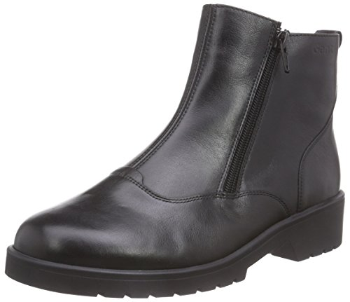 Ganter ELLEN-STIEFEL, Weite G, Damen Kurzschaft Stiefel, Schwarz (schwarz 0100), 42.5 EU (8.5 Damen UK)