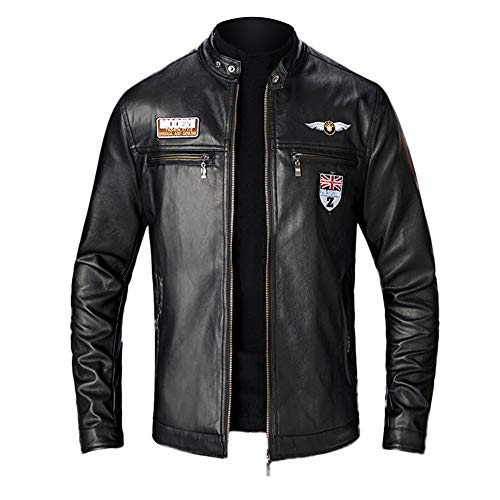What Can You Wear With a Black Leather Biker Jackets Mens?