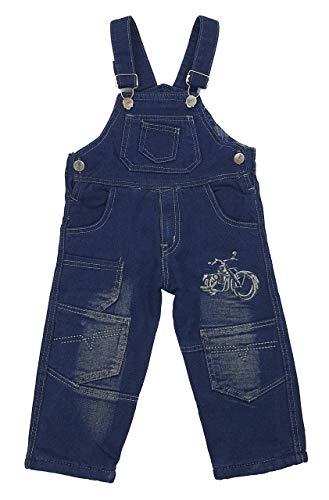 Fashion Boy Thermo Jeans Latzhose in Blau, Gr. 12 Monate, JT25