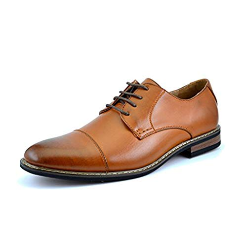 Calf Leather Shoes for Men Broques