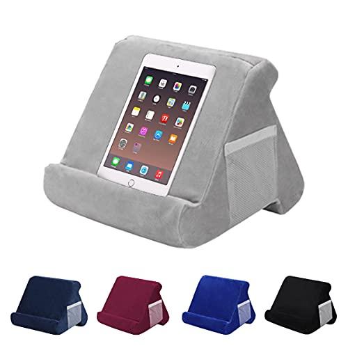 Miugwp Soporte Cojín para Tablet, Soporte Cojín para Tableta con Forma de Almohada, para Tablets Smartphones e-Readers Libros Revistas