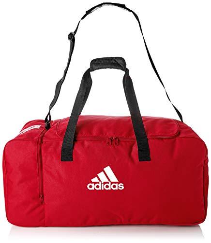 adidas Unisex Tiro Duffel L Sporttasche 70 x 32 x 32 cm, power red/White