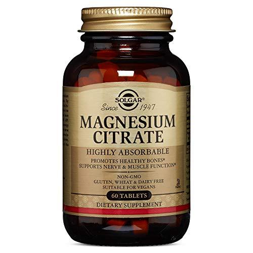 Solgar Citrato de Magnesio Comprimidos - 60 tabletas