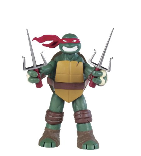Turtles Teenage Mutant Ninja Nickelodeon Battle Shell Raphael Figur