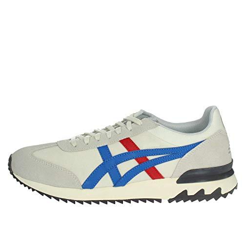 ASICS California 78 Ex, Sneaker Uomo, Grigio (Cream/Classic Blue 0042), 42 EU