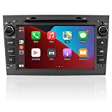 AWESAFE Autoradio pour Opel Android 10.0,2Go+32Go, 7''écran Tactile HD,Carplay et Android Auto,Bluetooth WiFi AM FM RDS GPS SWC SD DVD CD USB Fonction Gris