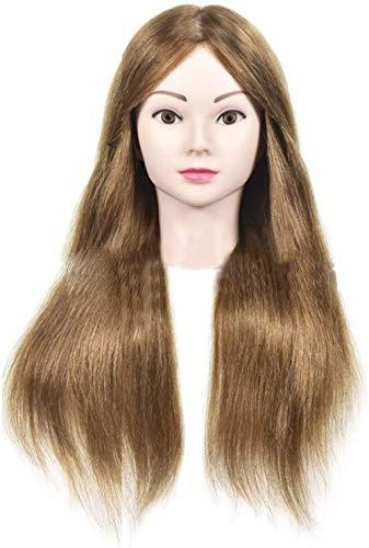 Mannequins de couture reglable Formation Pratique Head Maquillage Head Mannequin Tressé Cheveux Styling Salon de Coiffure Coupe de Cheveux factice Modèle de tête Porte vêtement Mannequin