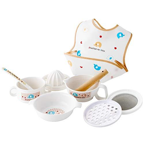 赤ちゃんの城『食器セット ぞうさん』