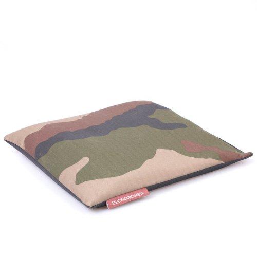 Enjoyyourcamera Bohnensack (Reissack, Telesack) zum Selbstbefüllen 25 x 25 cm - ideal als Stativ-Ersatz auf Flugreisen