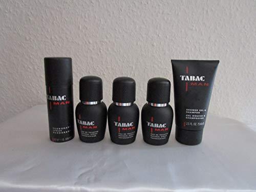 Tabac Herrendüfte Tabac Man Geschenkset Eau de Toilette Spray3 x 30 ml + Shower Gel & Shampoo 75 ml + Deodorant Spray 50 ml