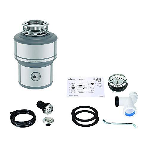 InSinkErator Küchenabfallentsorger Evolution 200, 0,75 PS, mit Luftschalter, Stainless Steel, Silver, one Size