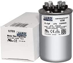 45 + 5 x 370 VAC Round Dual Run Capacitor by Jard # 12769
