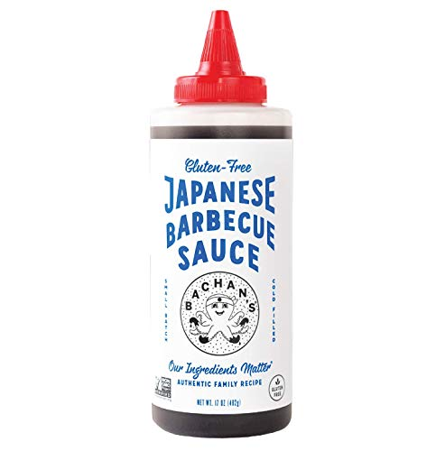 Bachan's - The Original Japanese Barbecue Sauce - Gluten Free, 17 Ounces. Small Batch, Non GMO, No Preservatives, Vegan and BPA free