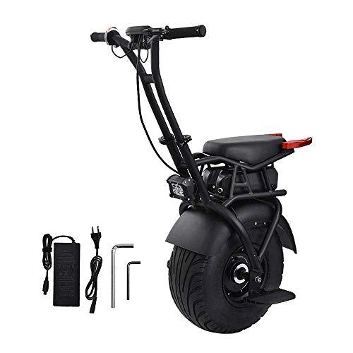 CTO Rollstuhl 18 Zoll elektrisches Einrad Einrad Elektroroller Skateboard 1000W Hoverboard E-Einrad E-Bike mit Gyro Force Braking System