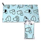 Emonye Bath Towel, Proper 12 Irish Whiskey Mcgregor Inspired Bath Towels Super Absorbent Beach Bathroom Towels for Gym Beach SWM SPA