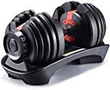 YPC Single 52.5 Lbs Adjustable Dumbbell,Workout...