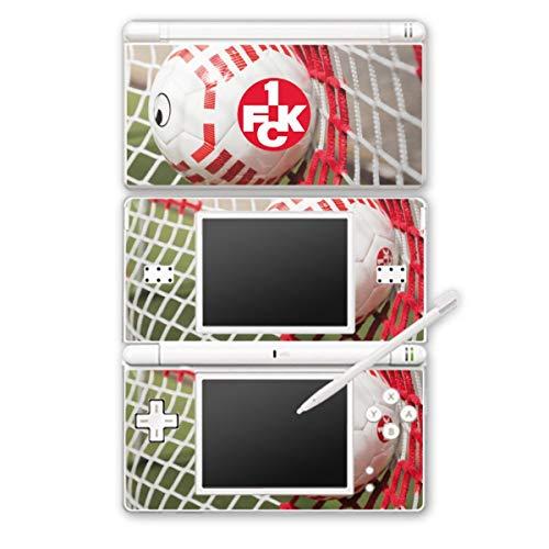 DeinDesign Skin kompatibel mit Nintendo DS Lite Folie Sticker 1. FCK Tor 1. FC Kaiserslautern