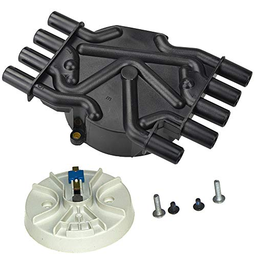 Bravex Distributor Cap and Rotor Kit Brass Terminals For Chevy GMC Vortec V8 5.0L & 5.7L DR474/ DR331 Trucks