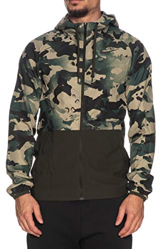 Nike Chaqueta Pro de hombre de camuflaje/verde militar Verde M