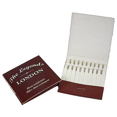 The Legends London Alum Matchsticks (2 books of 20)