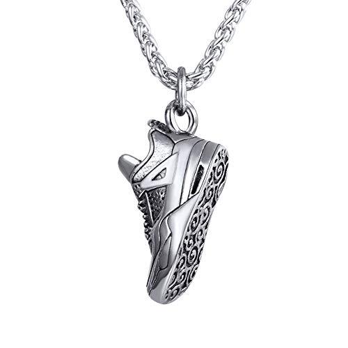 U7 Zapatilla de Baloncesto Collar de Sneaker de Baloncesto Aire Libre Jordan Vintage Retro Regalo de Hombre Padres Hijos