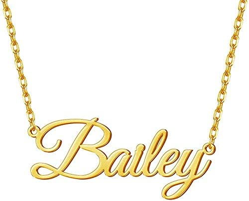 Antiquestreet Necklace Personalized Name Design In Gold Or Silver Plating Name Necklace Chain Customize Gift